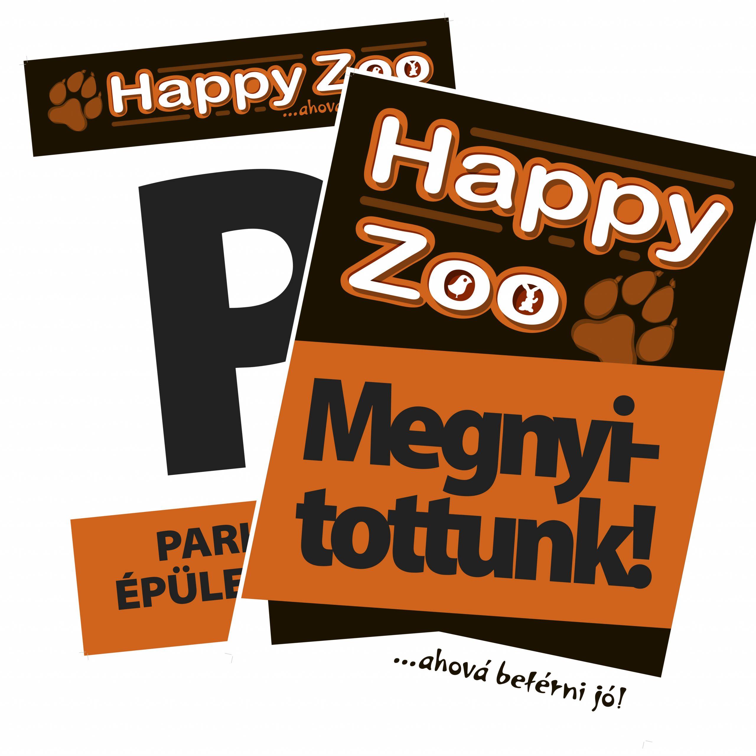 HappyZoo táblák